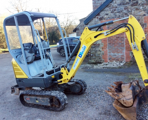 DR Plant and Tool Hire in North Devon